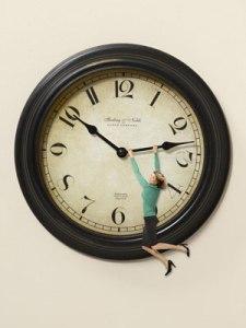 woman-on-clock