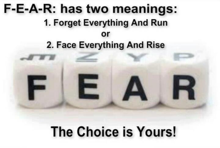 Nice Thoughtfull Quotes Fear