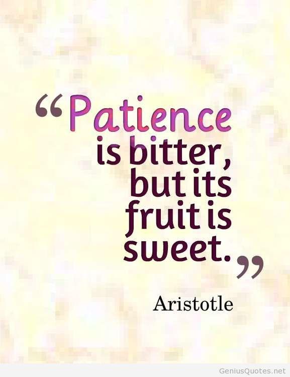 Mindful Monday #25 – Patience – Illuminated VOICE