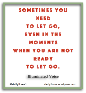 Sometimes You Need To Let Go